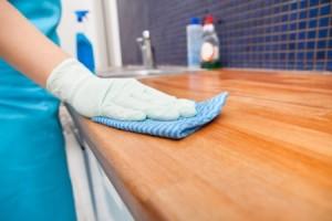 消毒注意事項 擦拭桌面