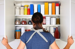 消毒注意事項 打開櫥櫃 密封食物