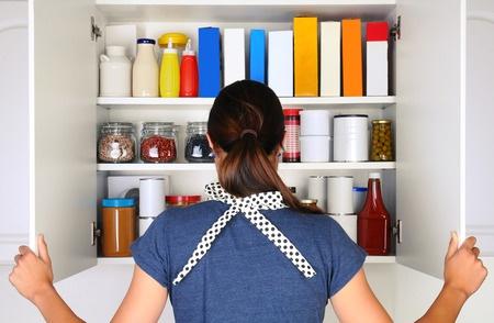 消毒注意事項|打開櫥櫃|密封食物