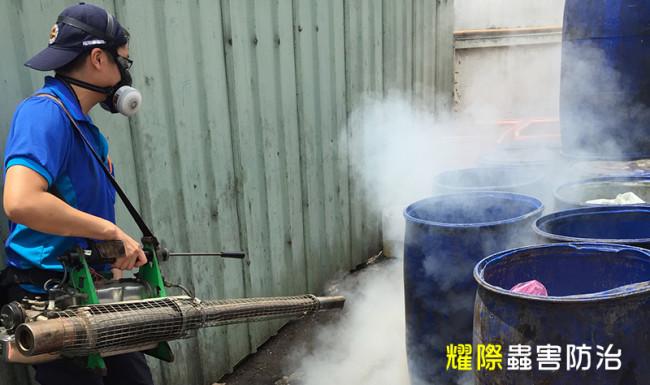 蟲鼠防治工法|耀際蟲鼠消毒|熱煙霧機
