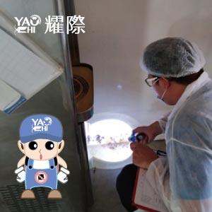食品工廠如何防治飛行性害蟲?外源性昆蟲篇14工廠巡檢